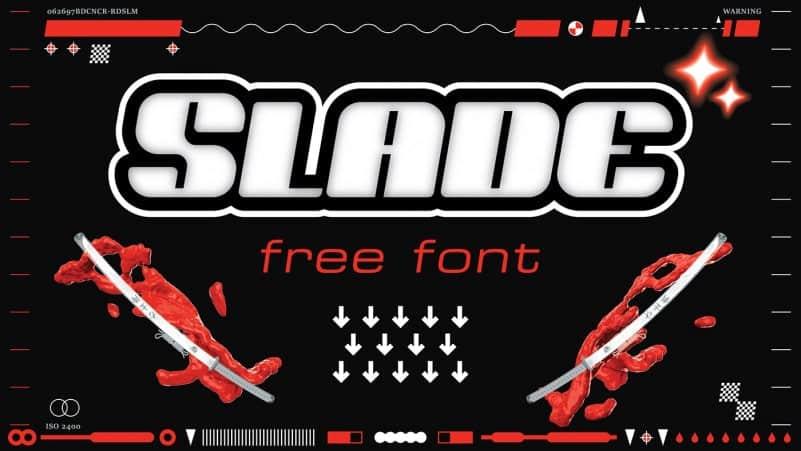 Slade шрифт скачать бесплатно